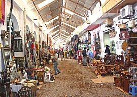 Ruim opgezette Souk van Agadir