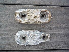 de aluminium anodes zijn flink opgelost