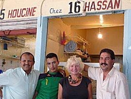 Vis eten in Agadir