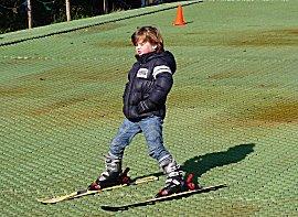 De neefjes hebben ski les, Daan