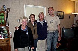 Weerzien met Dennis en Ank van de Bodyguard in Nederland