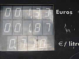 Prettige brandstof prijzen