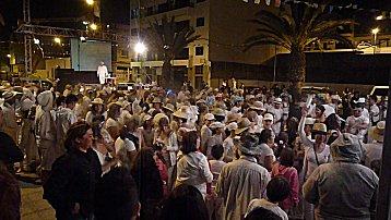 Feestje in Gran tarajal, carnaval 2011