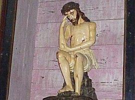 en wat zou hij er allemaal van denken, dat gesjouw met die heilige beelden