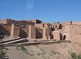Kasbha van Ouarzazata, te bezichtigen tegen betaling, wordt veel als filmdecor gebruikt