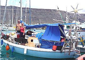 De Kauri van Roger en Terese, 27ft Alegro