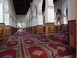 Interieur van moskee