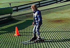 De neefjes hebben ski les, Sem