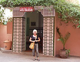 Hotel Toulousain, ons thuis in Marrakech