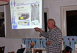Erik geeft lezing: Radio hobby tussen wal en schip - over nut en noodzaak van draadloze communicatie in de pleziervaart