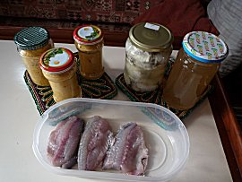 na een middag in de keuken: pate, bouillon, gekookte file en verse filet