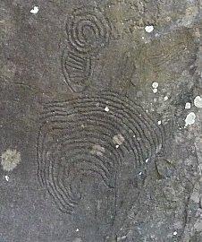 Tekeningen van de oorspronkelijke bewoners van de Canarische eilanden