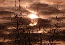 Gedeeeltelijke zonsverduistering