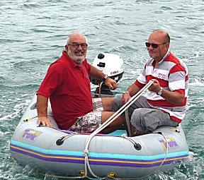 De bemanning van de Cula, Vitali en opstapper Henk