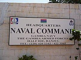 Gambia Navy, erg vriendelijk en behulpzaam