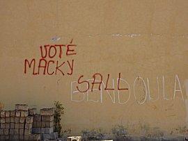 grafitti voor Macky