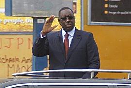 Nieuwe president van Senegal wordt toegejuichd