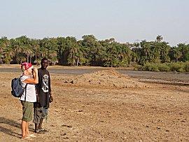 Met Omar op safari