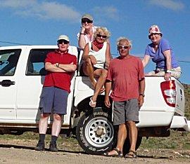 Dagje toeren met 4x4 pickupover Boa Vista