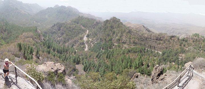 Uitzicht vanaf Pico da Cruz