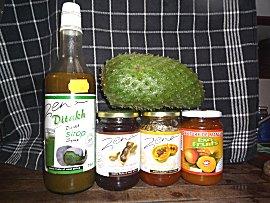 Zena, het Senegalese merk voor producten met vruchten, zeg maar de Senegalese flipje