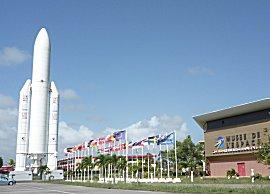 CNES, Centre Spatial Guyanais.