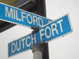 Straatnamen herinneren aan geschiedenis.