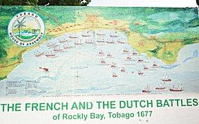 Franse Nederlandse zeeslag bij Scarborough.