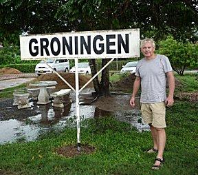 Op bezoek in Groningen Suriname.