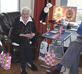 Tante Ria wordt 80 jaar