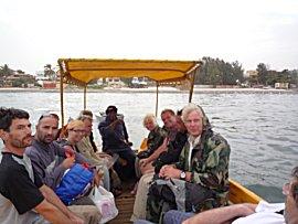 Watertaxi bij CVD Dakar
